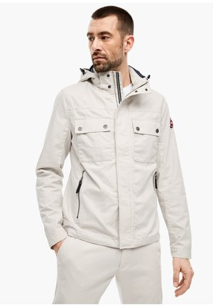 CANVASJACKE IM FIELD-STYLE - Summer jacket - cream