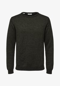 Selected Homme - SLHAIDEN  - Maglione - dark green - 5