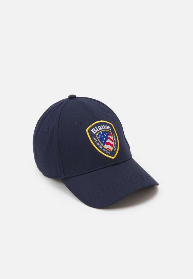 BASEBALL SHIELD PATCH UNISEX - Casquette - dark navy