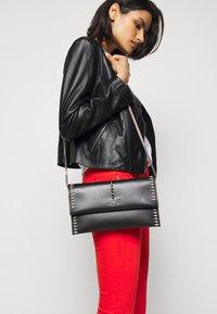 Patrizia Pepe - REAL JACKET - Leather jacket - nero - 3