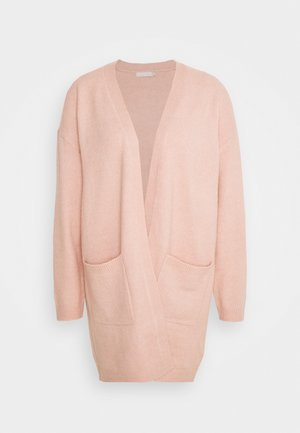 PCBIANCA LONG CARDIGAN - Cardigan - light pink
