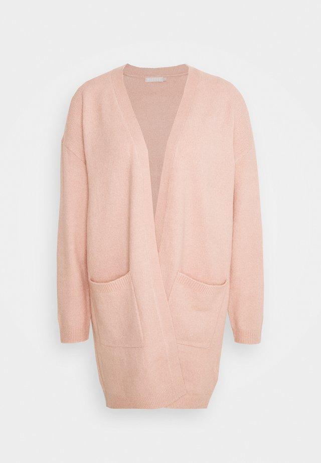 PCBIANCA LONG CARDIGAN - Kardigan - light pink