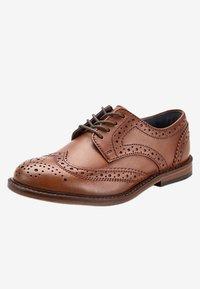 Next - Elegantní šněrovací boty - brown - 2