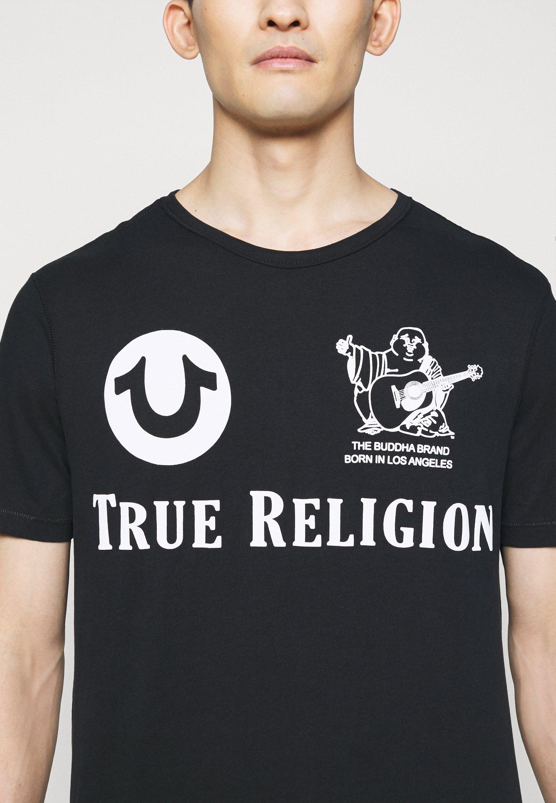 True Religion Print T-shirt - black EgtHG