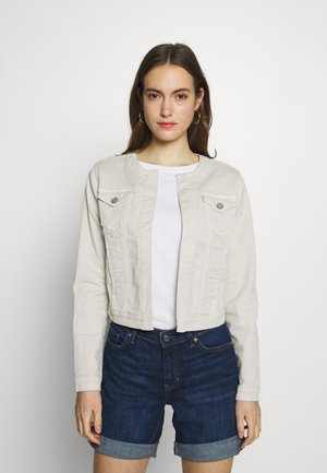 Denim jacket - pearl beige