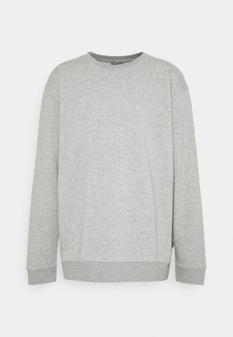 Only & Sons - ONSCERES LIFE CREW NECK PLUS - Sweatshirt - light grey melange