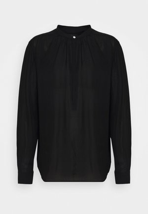 IDA LONG SLEEVE SHIRT - Camicetta - black