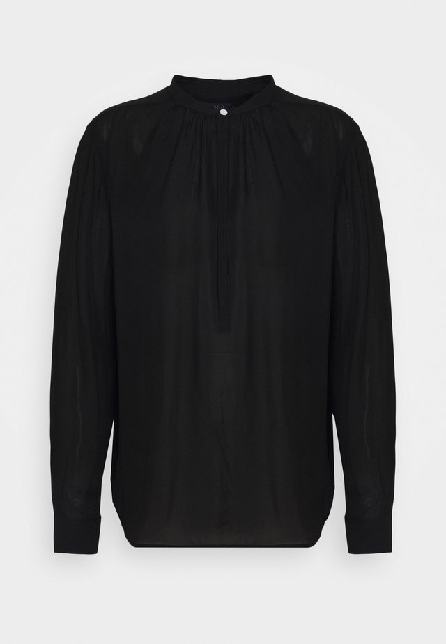 IDA LONG SLEEVE - Bluzka - black