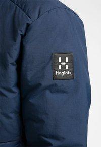 Haglöfs - DALA MIMIC HOOD MEN - Vinterjacka - tarn blue - 5