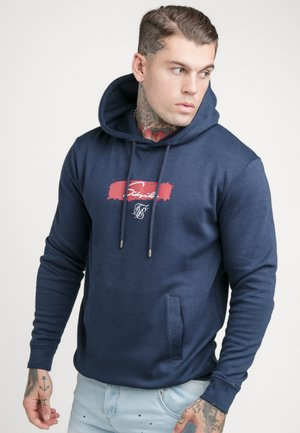 OVERHEAD HOODIE - Long sleeved top - navy