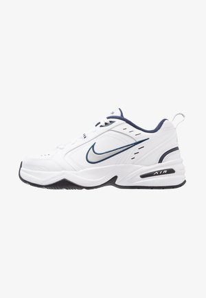 AIR MONARCH IV - Trainers - white/metallic silver