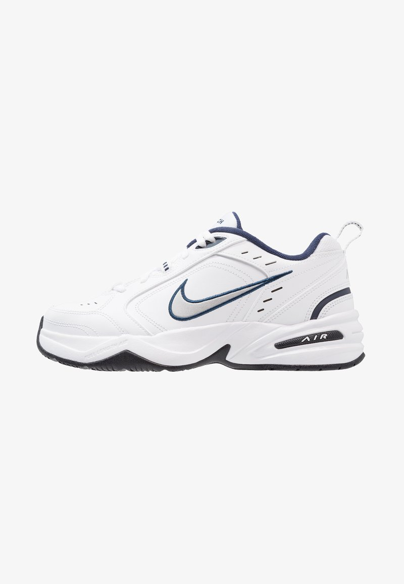 Nike Sportswear - AIR MONARCH IV - Sneakers - white/metallic silver