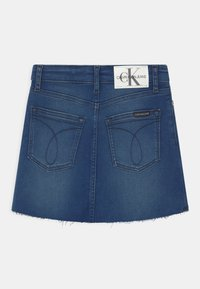Calvin Klein Jeans - ALINE - Mini skirt - denim - 1