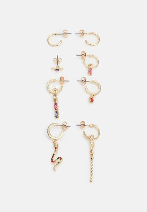 FGNANNA EARRINGS 4 PACK - Náušnice - gold-coloured/multi