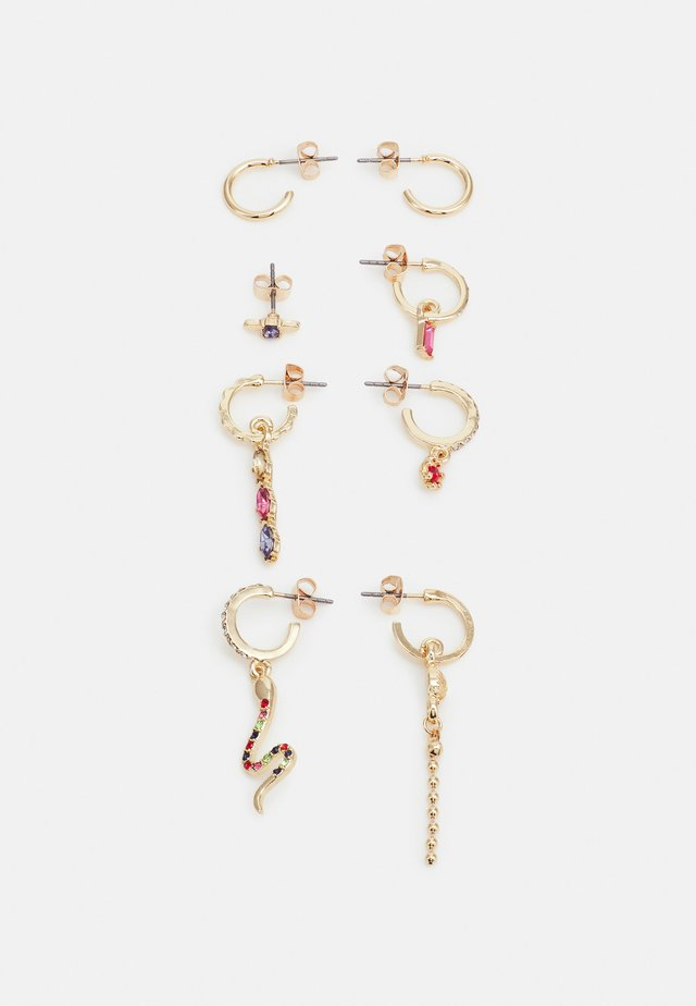 FGNANNA EARRINGS 4 PACK - Øreringe - gold-coloured/multi