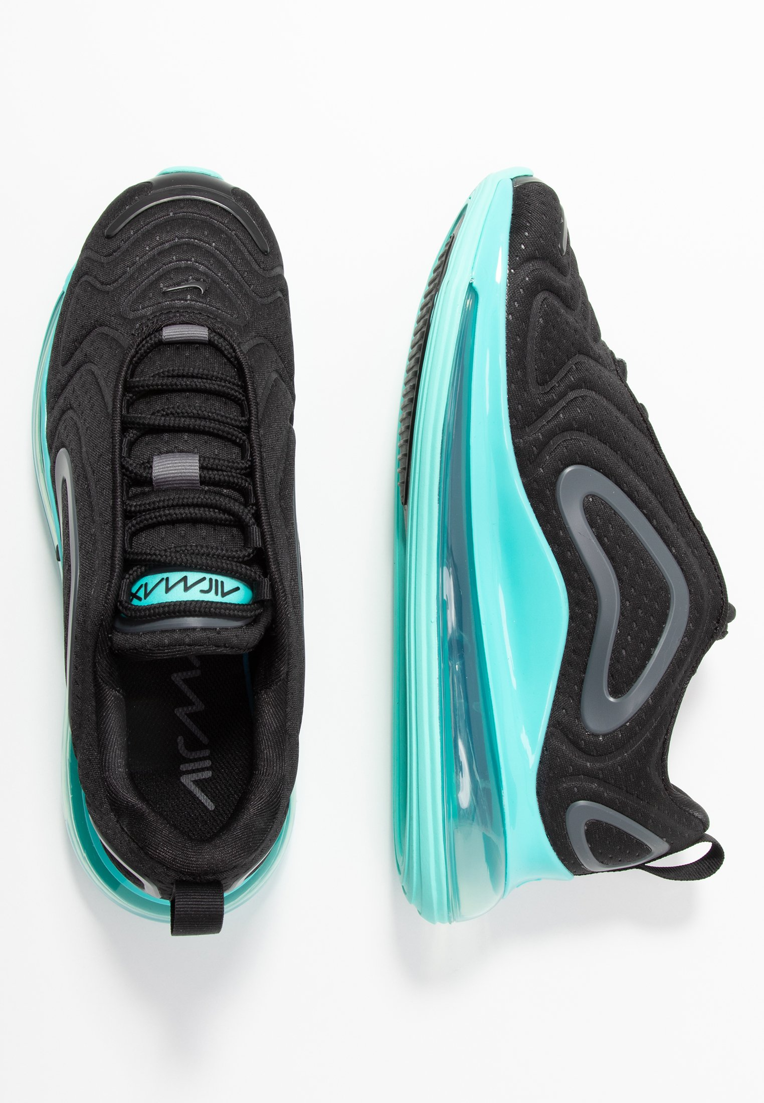 AIR MAX - Sneakers laag - black/aurora green/dark grey