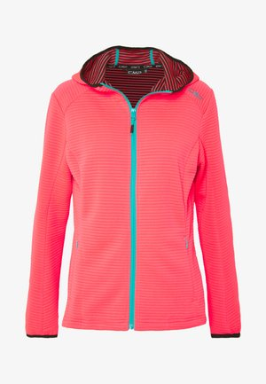 WOMAN JACKET FIX HOOD - Trainingsvest - gloss