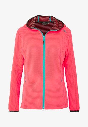 WOMAN JACKET FIX HOOD - Training jacket - gloss