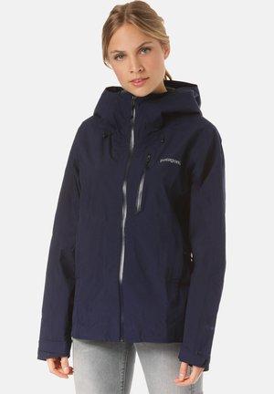Hardshell jacket - blue