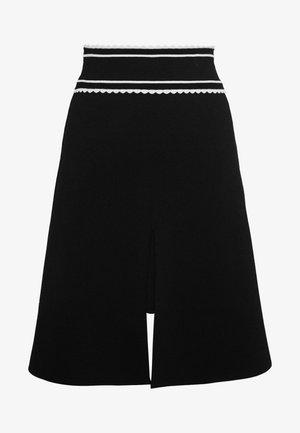 ANNA - A-line skirt - noir
