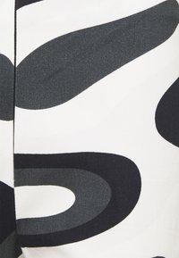 HOSBJERG - PALOMA PANTS - Trousers - black/white - 2