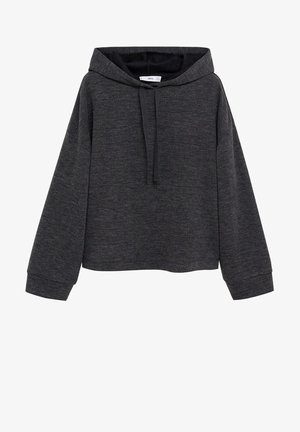 MAXIME - Bluza z kapturem - dark heather grey