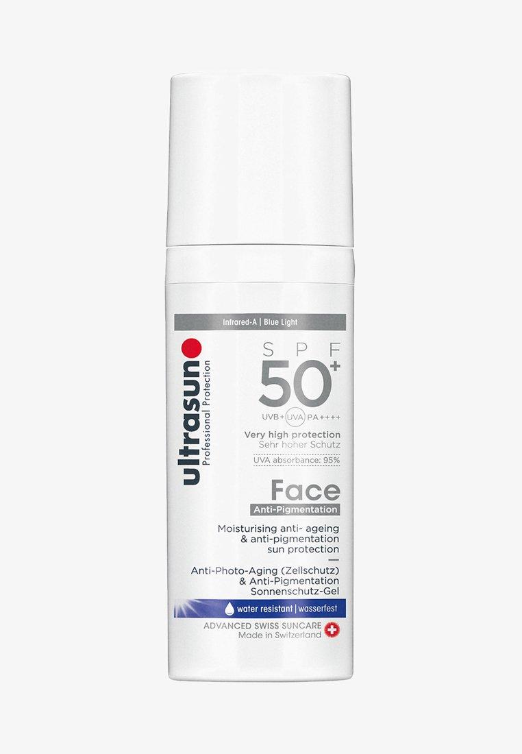 Ultrasun - FACE ANTI-PIGMENT SPF50+  - Zonnebrandcrème - -