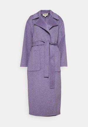 DOUBLEFACE ROBE COAT - Klasický kabát - lavender
