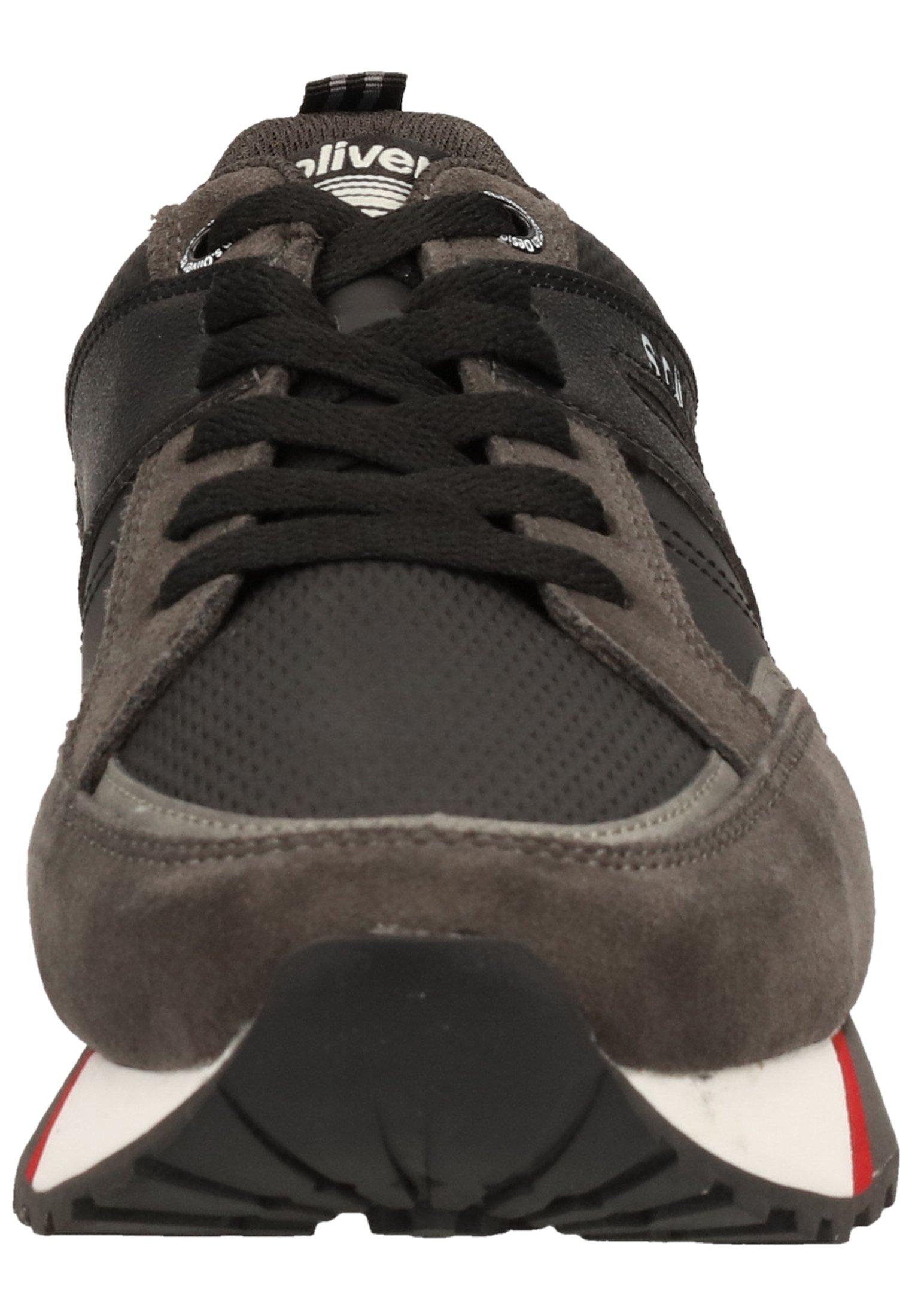 s.Oliver Sneaker low - black comb 98/schwarz - Herrenschuhe ABoT0