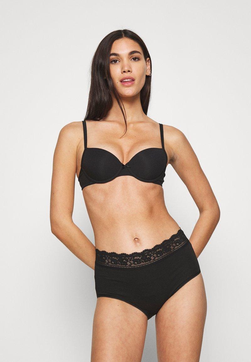 Marks & Spencer London - FULL BRIEF 5 PACK - Culotte - black