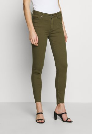 POLINE ANKLE - Jeansy Skinny Fit - olive
