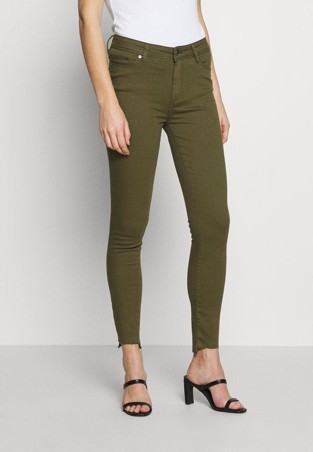 POLINE ANKLE - Jeans Skinny - olive