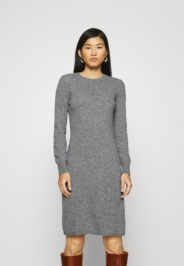 DRESS - Shift dress - grey