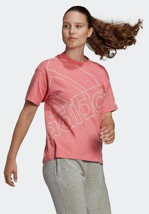 GIANT LOGO TEE - T-shirt con stampa - rose