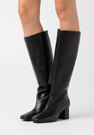 SLFZOEY HIGH SHAFTED BOOT - Botas - black