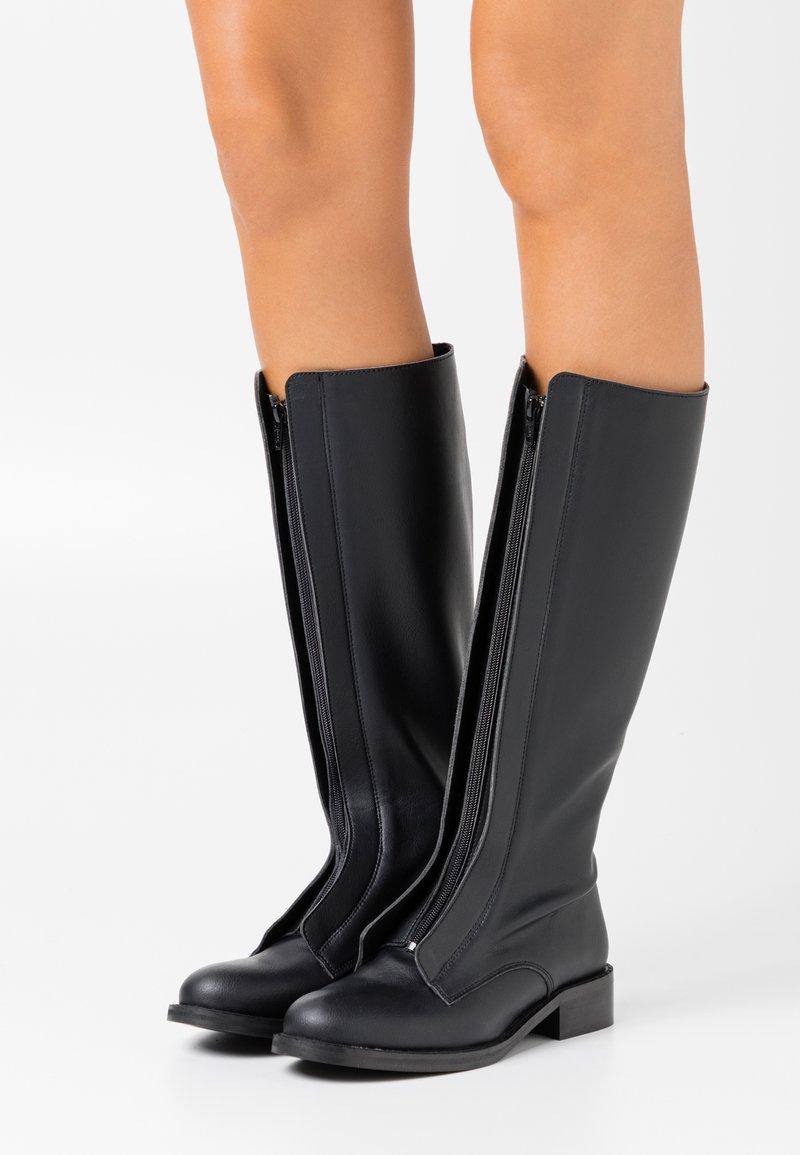 NAE Vegan Shoes - RUTH VEGAN - Saappaat - black