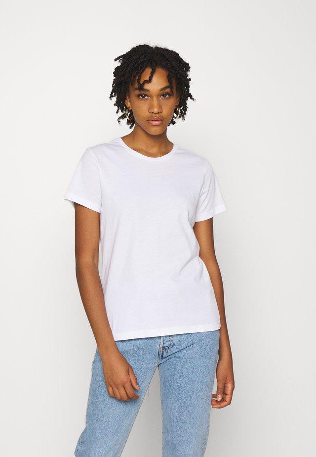 ROSA BASIC TEE - Jednoduché triko - bright white