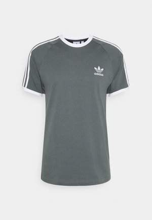 STRIPES TEE - Print T-shirt - blue oxide