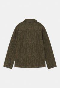 Pepe Jeans - KARSON  - Denim jacket - khaki green - 1