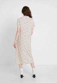 Envii - ENMOORE DRESS - Skjortekjole - beige/multi-coloured - 2