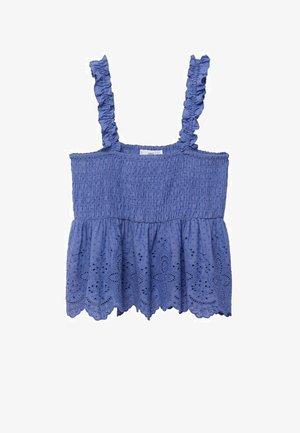 Bluse - bleu