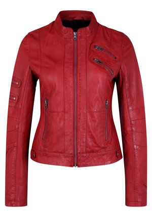 LILO - Leather jacket - red