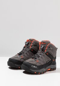 CMP - RIGEL MID SHOE WP UNISEX - Hiking shoes - stone/orange - 3