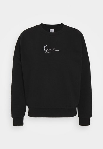 SMALL SIGNATURE CREW - Sweatshirt - black