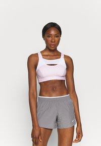 Nike Performance - ALPHA BRA - High support sports bra - regal pink/white - 2