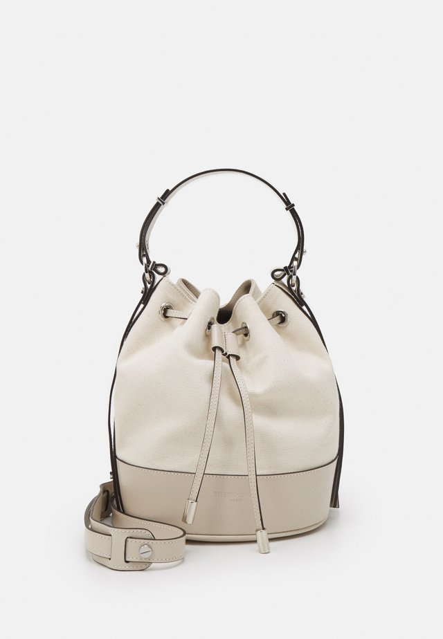 TINA KUNAKEY MEDIUM BUCKET BAG - Borsa a mano - ecru