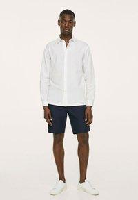 Mango - SEERSUCKER RESPIRANTE - Formal shirt - blanc - 1