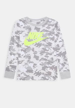CAMO UNISEX - Long sleeved top - white