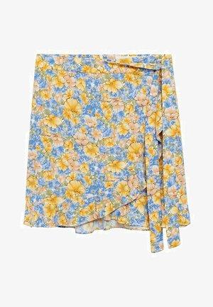 DELFOS - Zavinovací sukně - blauw