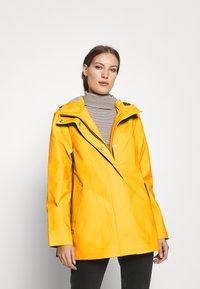 Hunter ORIGINAL - ORIGINAL SMOCK - Waterproof jacket - yellow - 0